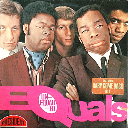 EQUALS (The) - Unequalled (1968)